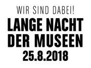 Lange Nacht der Museen 2018