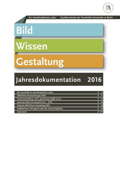 Jahresdokumentation 2016