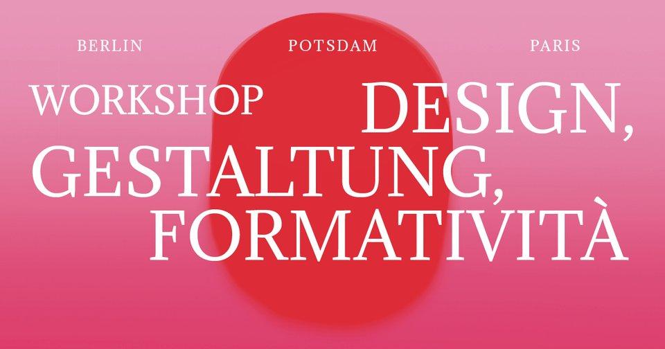 Design Gestaltung Formativita