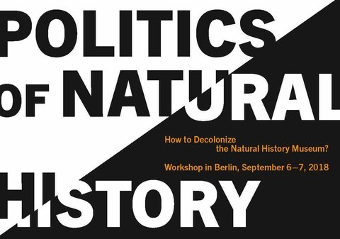 Workshop »Politics of Natural History«