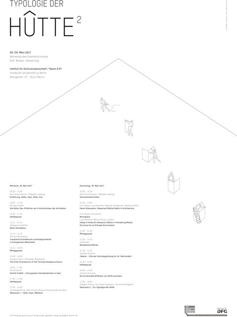 Typologie der Hütte
