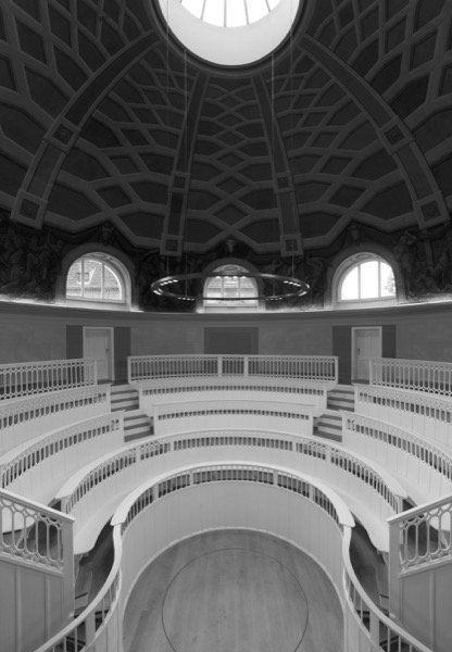 Hörsaal des Tieranatomischen Theaters, Foto: Stefan Josef Müller