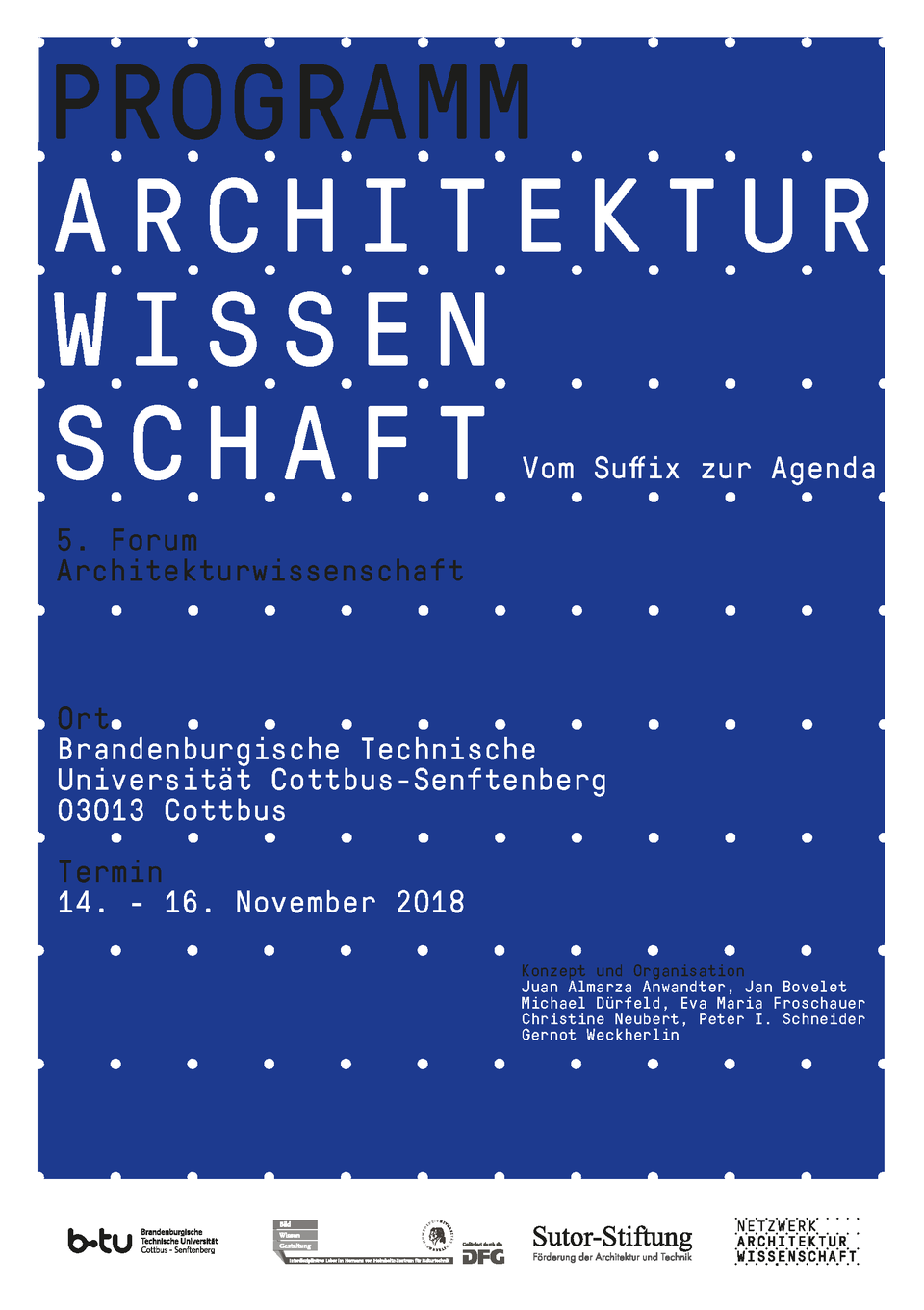 5. Forum Architekturwissenschaft