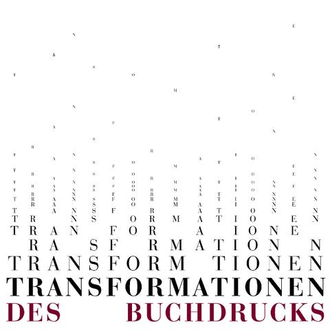 Transformationen des Buchdrucks