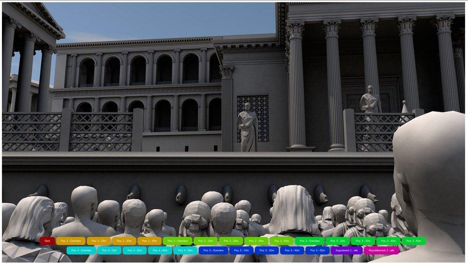 Politische Kommunikation auf dem Forum Romanum