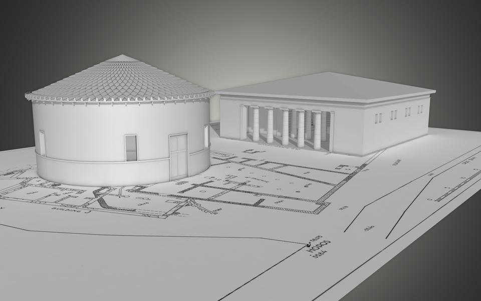 Agora Preview (Tholos und Bouleuterion)