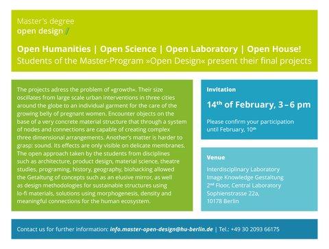 Open Design – Open House!