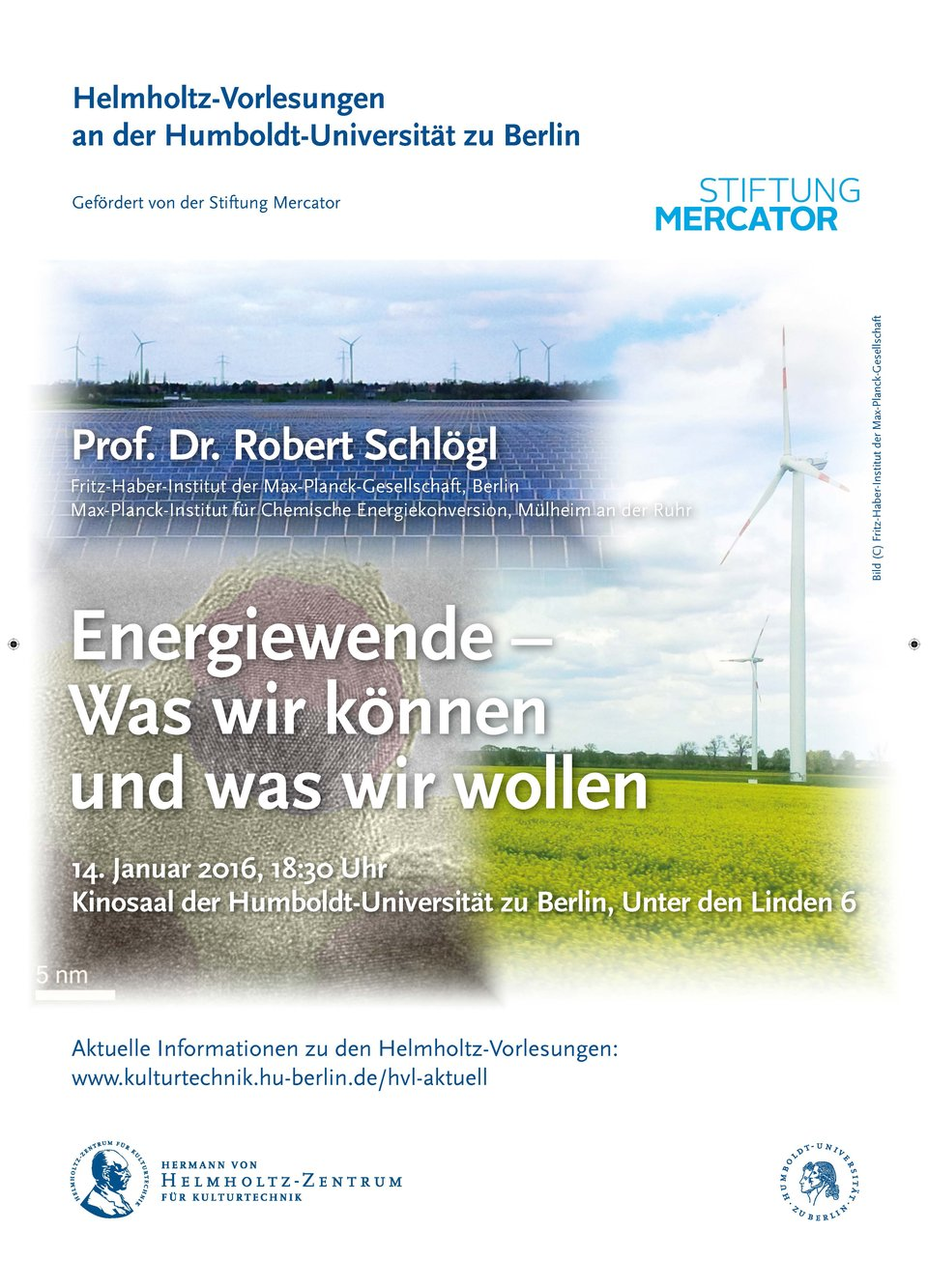 Schlögl - Helmholtz Vorlesung Januar 2016